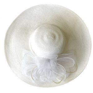 August Hat | כובע לבן אוגוסט הט