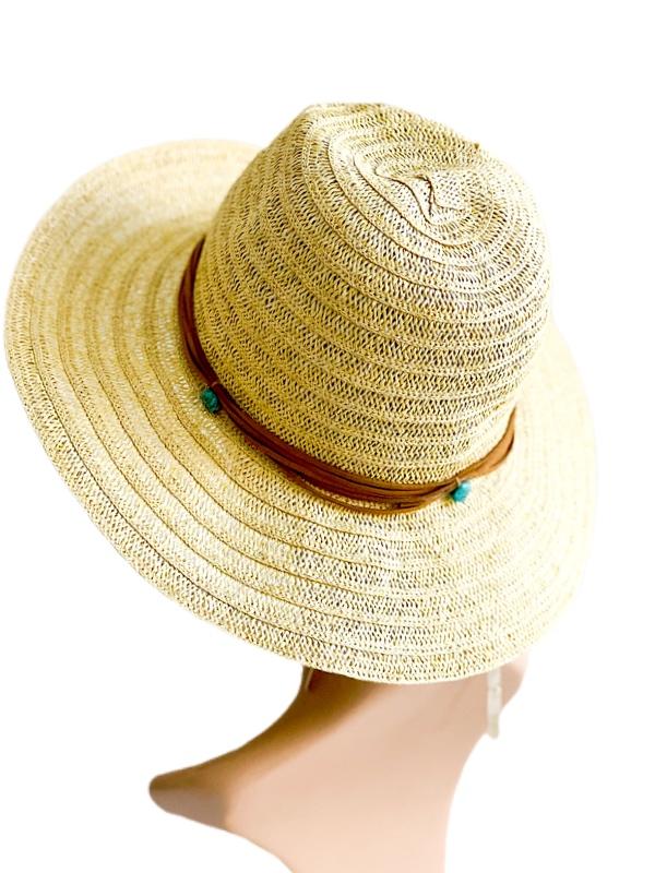 Collection   כובע קש אופנתי קולקשיין