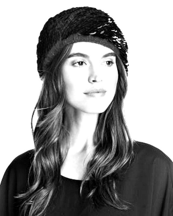 Grevi | כובע פייטים יוקרתי שחור גרווי