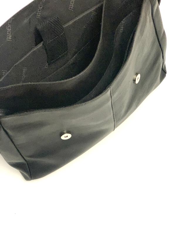Bugatti   תיק מנהלים עור שחור בוגאטי