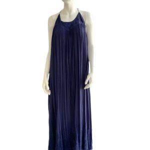 Free People | שמלת אלאין כחולה פרי פיפל