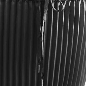 DKNY-Donna Karan | חצאית פליסה שחורה דונה קארן