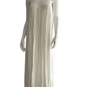 Free People | שמלת אלאין לבנה פרי פיפל