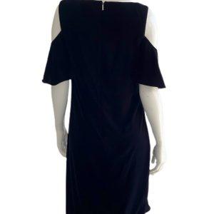 Ralph Lauren | שמלה שחורה קטיפה ראלף לורן