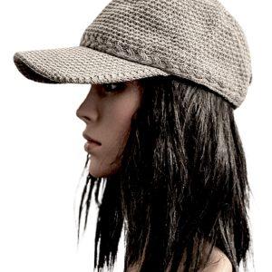 INC | כובע קסקט אפור איאנסי