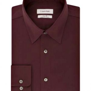 Calvin Klein | חולצה בורדו אופנתית קלווין קליין