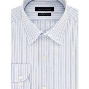 Tommy Hilfiger| חולצה מכופתרת פסים אופנתית טומי הילפיגר