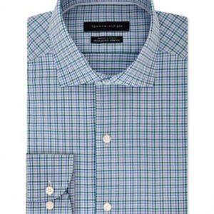 Tommy Hilfiger| חולצת מכופתרת משובצת אופנתית טומי הילפיגר
